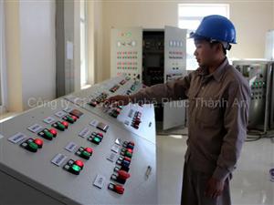 Nhà máy nước sạch Lai Châu